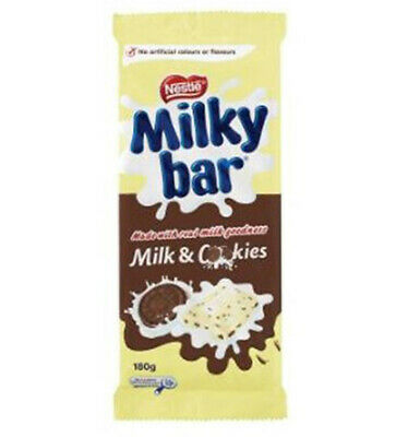 Milkybar With Cookies 180g x 12