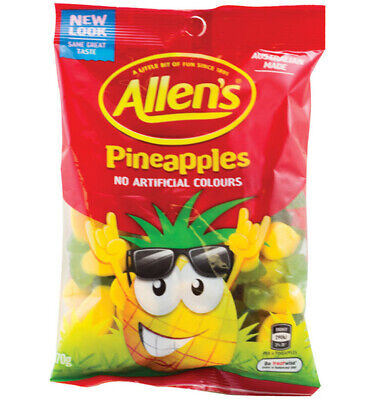 Allens Pineapples 170g x 12