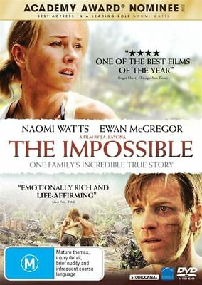 The Impossible DVD : NEW