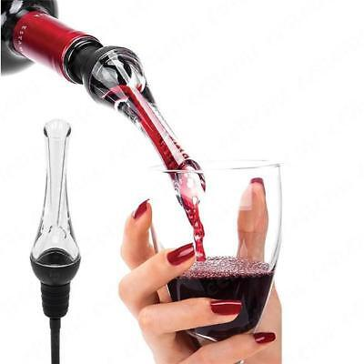 White Red Wine Aerator Pour Spout Bottle Stopper Decanter Pourer Aerating LE