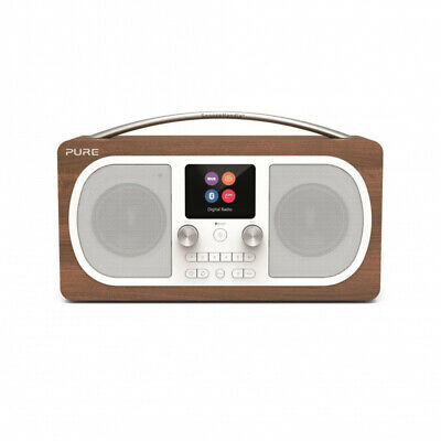 Pure Evoke H6 Stereo DAB+/FM Radio & Bluetooth - Walnut