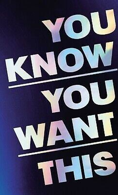 You know you want this by Kristen Roupenian [EB00k, EPUB] 2019 Fast delivery