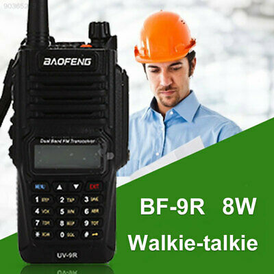 738C IP67 Walkie Talkie Two-Way Radio Time-Out Timer 136-174 400-520MHZ