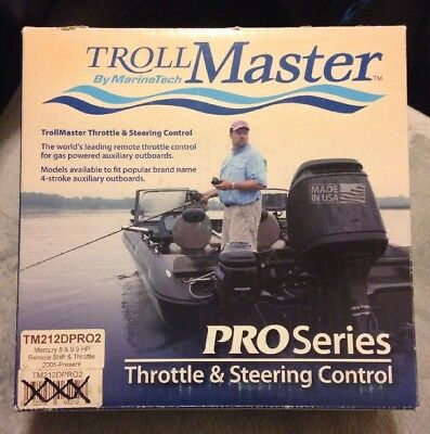 TrollMaster TM212DPRO Throttle & Steering Control 8 & 9.9 HP