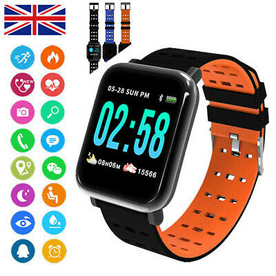 Sports Waterproof Activity Tracker Fitness Smart Watch IP67For Fit bit style A6