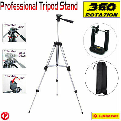 Lightweight Professional Tripod Stand For DSLR & Digital Camera Bag Case Cover