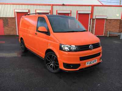"""VW Transporter T5, 140bhp, Air Con, Tailgate, 20"""" Alloys. sportline styling"""