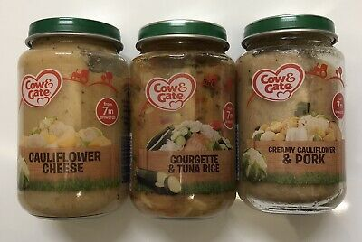 Cow & Gate Baby Food Assortment