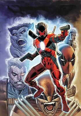 Major X #1 Cover A (Rob Liefeld) Marvel Comics PREORDER - SHIPS 03/04/19