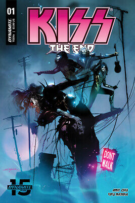 Kiss The End #1 Cover A Dynamite Comics PREORDER - SHIPS 10/04/19