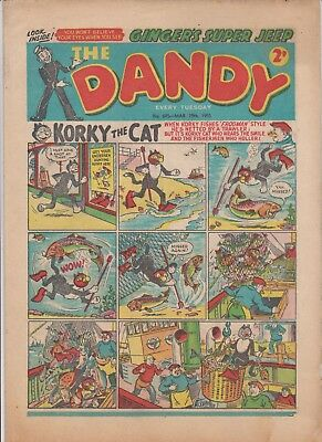DANDY  COMIC  No.695...MARCH  19th  1955...10  1950's  DANDY  comics  on  today
