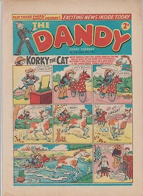 DANDY  COMIC  No.643....MARCH  20th  1954...10  1950's  DANDY  comics  on  today