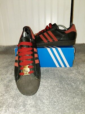 ADIDAS IAN BROWN Superstars Size 9.5 (Deadstock, Stone Roses, Spezial)