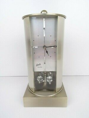 German Vintage SCHATZ Desk Table Anniversary Mantel Shelf Clock (Kienzle era)