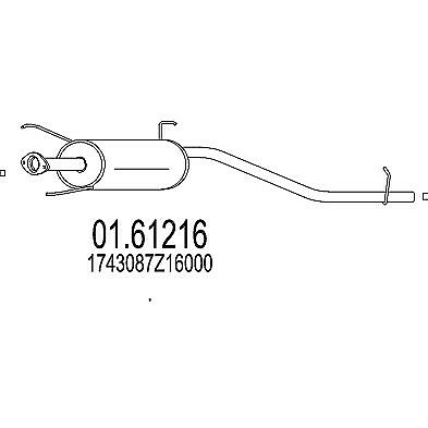 Inner Rack End fits MITSUBISHI OUTLANDER Mk1 2.0 02 to 06 Tie Rod Joint ADL New
