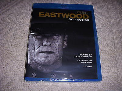 Clint Eastwood Collection Cofanetto 3 Blu-Ray Disc Nuovo Sigillato