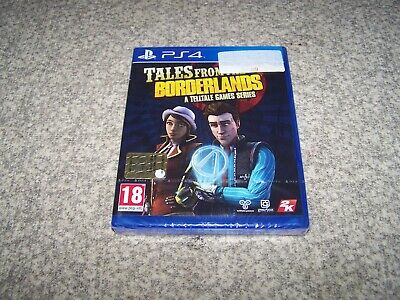 Tales From Borderlands Sony Ps4 Playstation 4 Nuovo Sigillato New Sealed Pal Ita