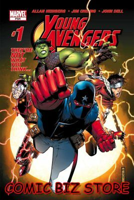 Young Avengers #1 (2005) 1St Appearance Of Kate Bishop Marvel Comics Vfn- 7.5