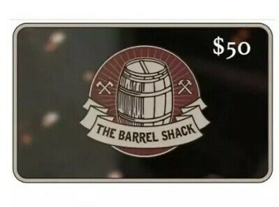 Gift Card The Barrel Shack $50 value