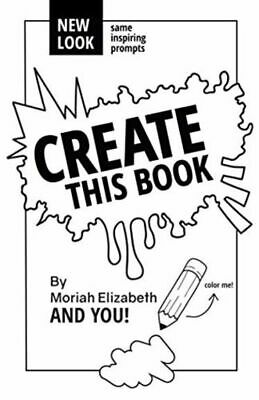 Create This Book - Paperback **FAST & FREE DELIVERY**