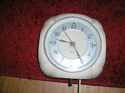SMITHS ELECTRIC 1940's 50's rockabilly retro vintage art deco style clock