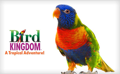 Four (4) Tickets to Bird Kingdom in Niagara Falls Canada