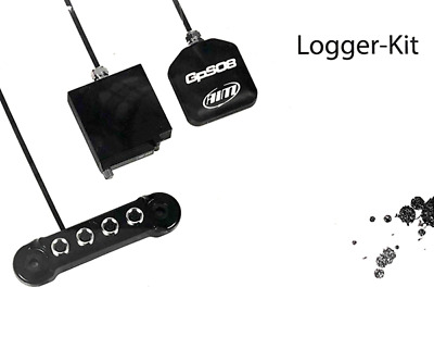 Aim Strada Track Logger Kit With Data Hub And Gps Roof Version With 2M Cable