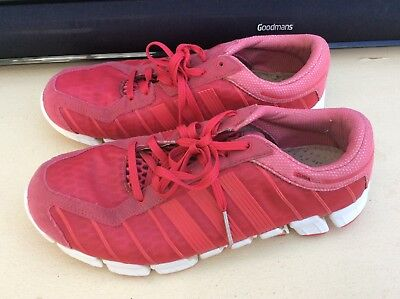 separation shoes bb499 3d184 WOMEN'S LADIES GIRLS Pink Adidas Climacool Trainers UK size 6