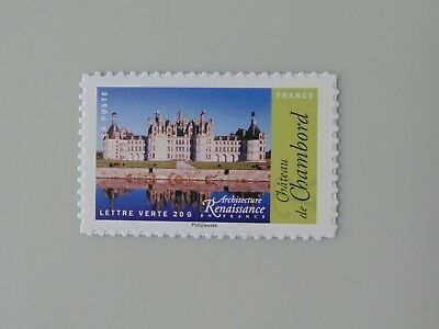 France année 2015 adhésif 1114 1114A neuf luxe ** support blanc chambord