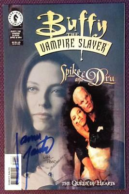 Buffy the Vampire Slayer Spike & Dru Special signed with C.O.A (Dark Horse 1999)