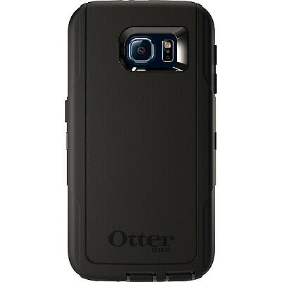 OtterBox Defender Series Protective Case and Holster for Samsung Galaxy S6 Black