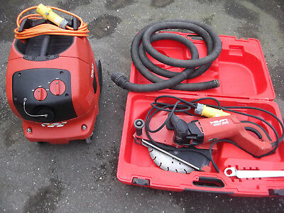 Hilti DCH 300 12 In. Electric  Concrete Cutting  Tool wall chaser.
