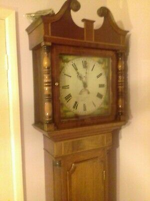 An early nineteenth century longcase clock by Davenport of Ashbourne, Derby.