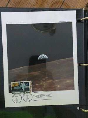First Man On The Moon Collection (First Day Issue Stamp) 1969 Mint Condition