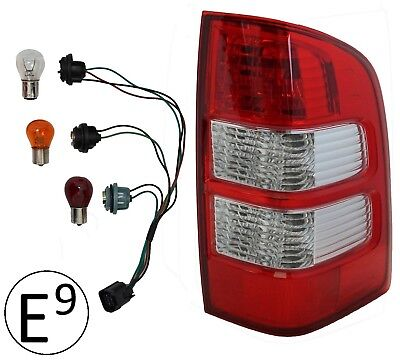 Right Rear Light Ford Ranger 2006-09 pickup truck tail lamp RH O/S +Bulbs & Loom