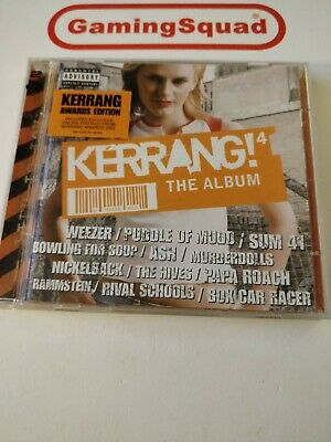 Kerrang 4 The Album, Various Artists CD, Supplied by Gaming Squad