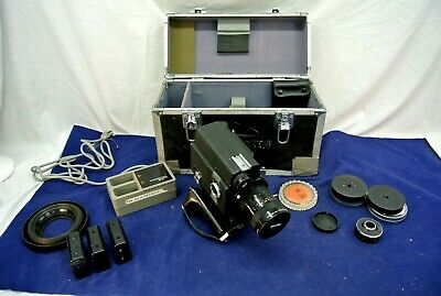 Canon Scoopic 16 Mm Movie Camera & Case