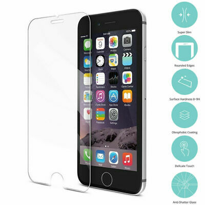 4X Tempered screen protector for all iphone model 6S 7 PLUS 8 XS Max,XR,XS,X new