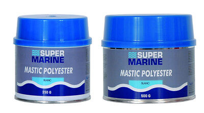 MASTIC POLYESTER DE FINITION 250g SUPERMARINE