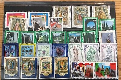 Vatican City 1995 Compete MNH Year Set  (Includes Souvenir Sheet)