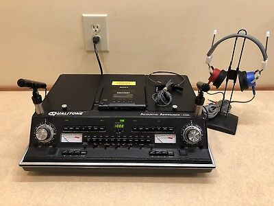 Qualitone CD2, Portable 2 Channel Audiometer with Current Calibration Cert.