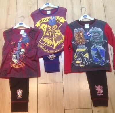 Job Lot BNWT Genuine Harry Potter Pyjamas 9 Pairs In Total Age 5-6 Years