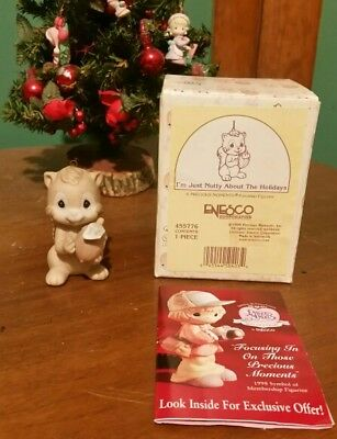 Precious Moments Squirrel Ornament I/'m Just Nutty About The Holidays 455776 NIB