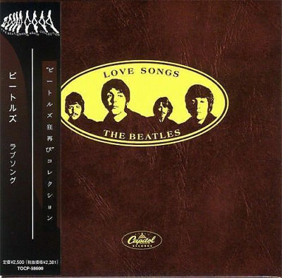 BEATLES Love Songs CD Mini LP OBI