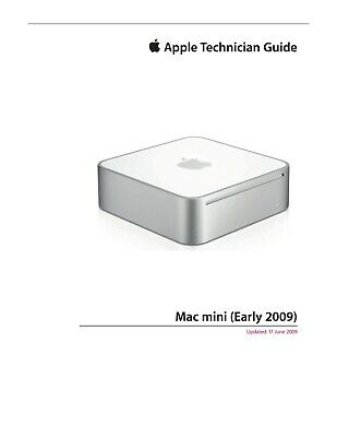 Apple Technician Service .PDF Manual for Apple Xserve Early 2009
