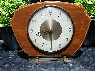 Antique 8 Day wooden mantle clock