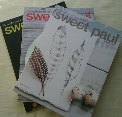 Sweet Paul Magazine Lot of 3 Issues Spring Summer 2015 2013 no. 12 13 20