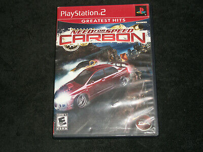 Need for Speed: Carbon PS2 Complete  Sony Playstation 2 EA Racing