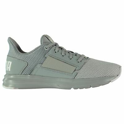 f8a64be6956 Puma Enzo Street Running Shoes Womens Grey Run Jogging Trainers Sneakers