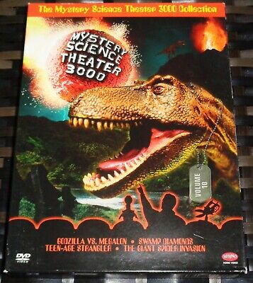 Mystery Science Theater 3000 Collection Vol 10 DVD 2006 4 Disc Set